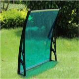Strato verde del policarbonato per la tenda della fabbrica