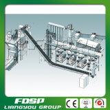 cadena de producción de la pelotilla 3tph para el bagazo con el empaquetamiento auto en planta del combustible