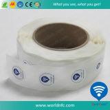 Autoadesivo impermeabile della modifica RFID del contrassegno del PVC