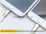 Зарядный кабель USB Sync данным по новой лапши прибытия микро- цветастой плоский для сотового телефона