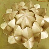 Hyperbolic formas complejas Panel de aluminio para la decoración