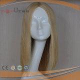 Perruque en soie de Hotselling de peau européenne faite sur commande de cheveux humains première