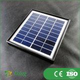 O painel solar pequeno de 1.7W 9V projeta o preço de fábrica Shenzhen China