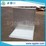 Barrière en aluminium piétonnière de foule de glissières de sécurité en métal de barrières de commande