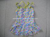 Polka PUNKT gedruckte Mädchen-Badebekleidung