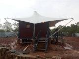 Chambre modulaire/mobile/préfabriquée de récipient d'expédition avec obtiennent la tente