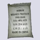 Hexametafosfato mínimo el 68% del sodio del polvo el 68% de SHMP