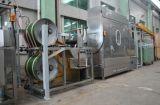 Haustier-gewebte Materialien/Verdrahtungs-Material-kontinuierliche Färbungsmaschine mit hoher Leistungsfähigkeit