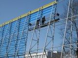 高いQuolityのWindbreakの塀のネットの反塵
