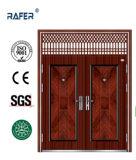 Porta de aço grande barata da venda quente com janela do ar (RA-S184)
