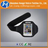 Brazal de la gimnasia de los deportes del gancho de leva y del Velcro del bucle para los teléfonos móviles