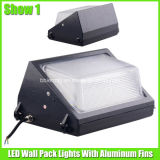 Outdoor Parking Lot Lighting를 위한 IP65 60 Watt LED Wall Pack Lamp