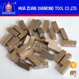 Eficiência elevada segmentos de 1 diamante do medidor para o mármore do corte
