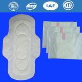 Serviettes hygiéniques de coton pour la garniture sanitaire de dames des produits de la Chine de l'usine (YT124)