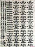 Las etiquetas engomadas del traspaso térmico del punto modificaron la impresión de la insignia para requisitos particulares