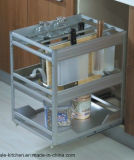 Austriala様式のメラミン食器棚の家具