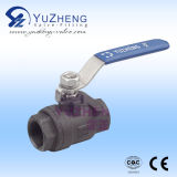 2PC Edelstahl Ball Valve Operated durch Manual