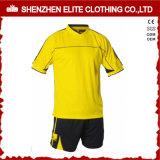 Kits uniformes personnalisés en uniforme bleu et blanc pour les clubs