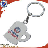 Populärer DIY Zoll der Dekoration-Form-kleidet Form-Metall Keychain (FTKC1714A)