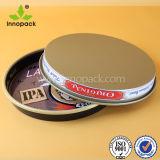 طلاء لّك رخيصة مستديرة [نون-سليب] يطبع معدن قصدير صينية لأنّ طعام/جعة/زجاجة