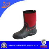 Laarzen van de Regen van de Jonge geitjes van het Neopreen van de manier de Rode Hogere Unisex- (66310)