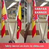 大きく新しいデザイン屋外の元気づける屈曲の国旗