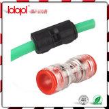 Fibre optique en plastique de garnitures de Hantang, accessoires optiques, connecteur de tuyauterie micro
