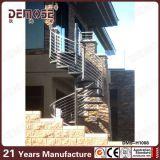 Vorfabrizierte gewundene Eisen-Treppe im Freien (DMS-H1003)