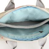 (200#) 방수 PVC 꽃 패턴 지퍼 화포 디자이너 핸드백