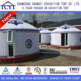Tente mongole en bambou campante de touristes personnalisée de Yurt