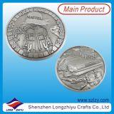 Ventas directas de la fábrica Las monedas del desafío de la aleación del esmalte de encargo de los EEUU