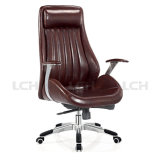 Présidence en cuir de bureau de fauteuil d'unité centrale