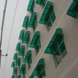 Hoja verde del policarbonato para el toldo de la fábrica