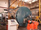 petróleo traseiro molhado da câmara de ar de incêndio da passagem de 1ton 2ton 3ton 4ton três e caldeira de vapor despedida gás