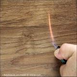 Vinyle/plancher imperméable à l'eau antidérapage de serrure de PVC