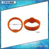 Wristband impermeável da freqüência ultraelevada da voz passiva RFID do silicone