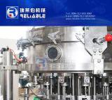自動びんの炭酸水充填機