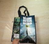 Конкурентоспособная цена рекламируя прокатанные хозяйственные сумки Nonwoven PP