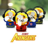 최신 Selling Super Hero 또는 Desk/Table를 위한 Avengers Computer/Power 은행 USB 강한 Wind Electric Fan