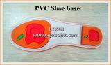 Cadena de producción del zapato de goma del PVC única