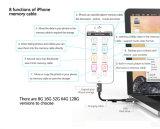 USB3.0ドライバー、iPhoneのためのUSBのメモリディスクの充満ケーブル