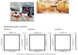 100lm/W Epistar 2835 600X600 LED verschobene Decken-Beleuchtung-Panel mit Cer RoHS ERP