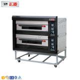 2 Oven van het Dek van deuren en van 4 Dienbladen de Elektrische Luxueuze (zmc-204D)
