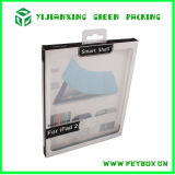 Cadre de empaquetage de cadre de paquet plat d'emballage de cas clair en plastique de téléphone cellulaire avec le plateau de garniture intérieure