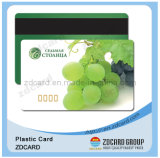 Unbelegte Hico Magnetkarte Plastik-PVC-