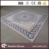 По-разному цветы хонинговали мраморный мозаику картины для плитки настила
