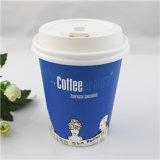 يطبع علامة تجاريّة تصميم قهوة [ببر كب] مع غطاء