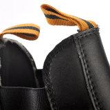 Zapatos de seguridad libres del metal sin el cordón para el hombre M-8025