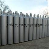 Cilindro de gás de alta pressão do argônio do aço sem emenda (GB5099)