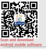 Carte ordre androïde d'écran du contrôle du logiciel DEL